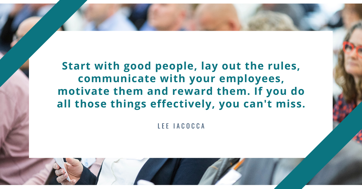 Leading with Emotional Intelligence Quote #2: Lee Iacocca