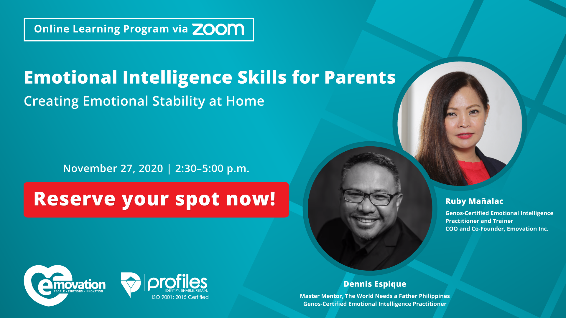 Emotional Intelligence Skills for Parents: Creating Emotional Stability at Home