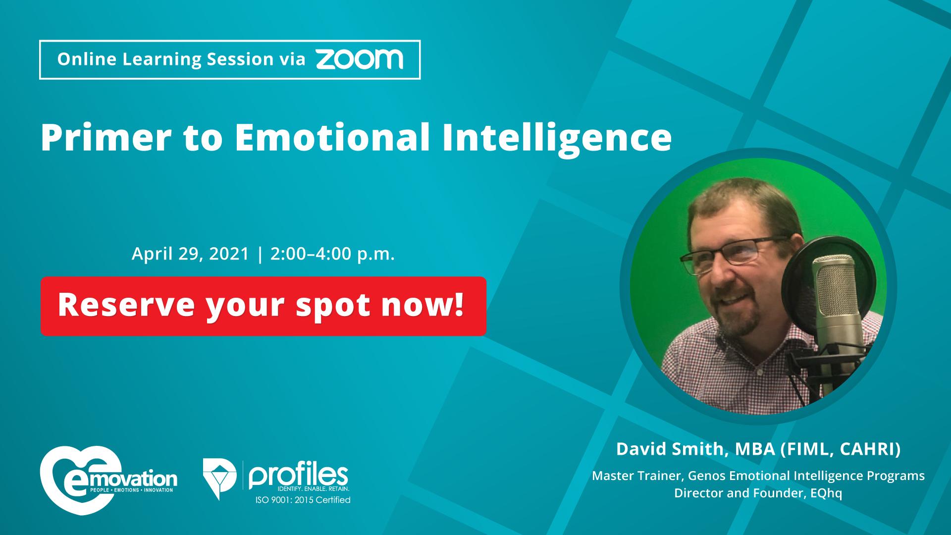 Primer to Emotional Intelligence