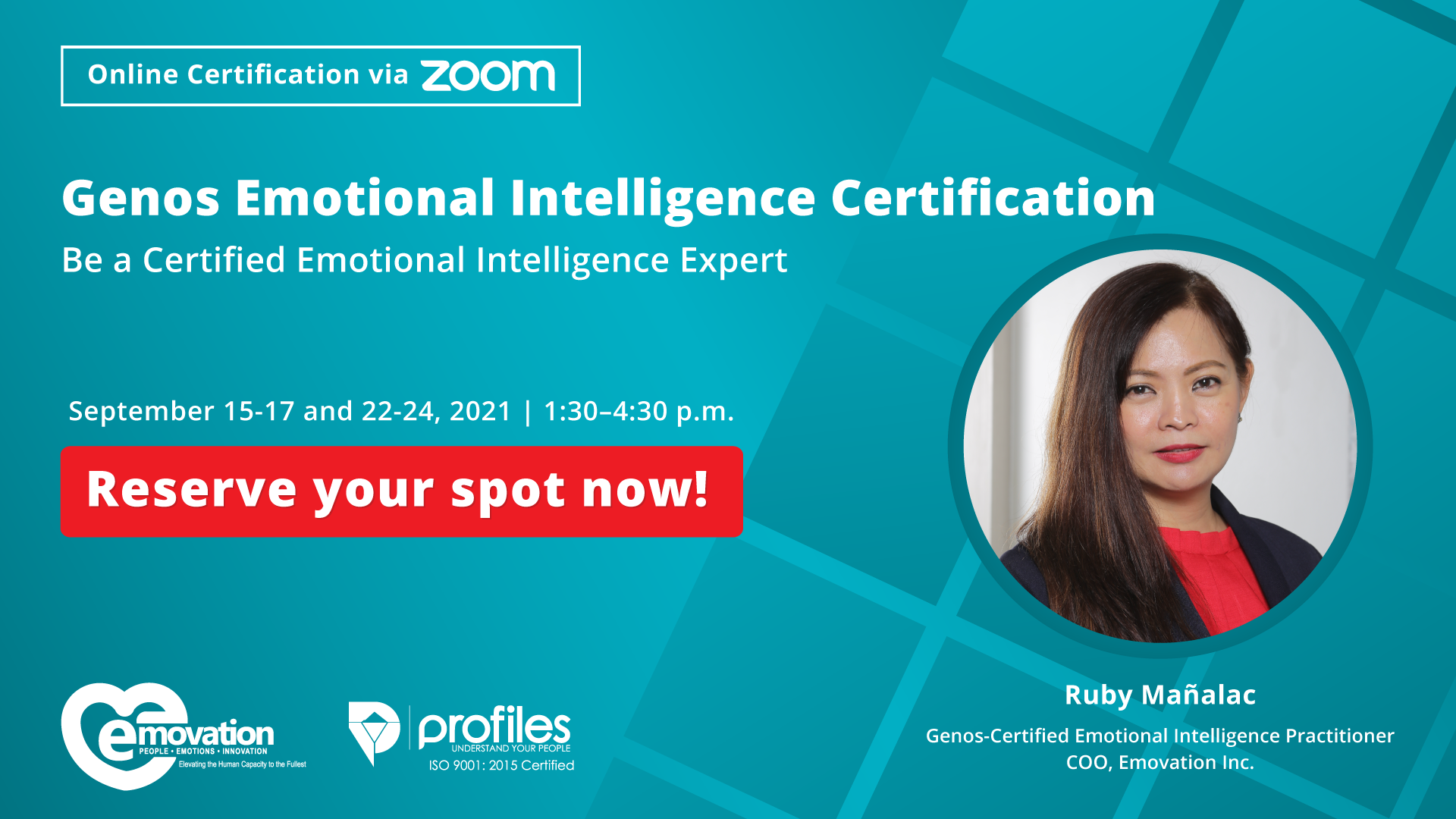 Genos Emotional Intelligence Certification Philippines